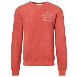Mens Red Sweatshirt 883862247017 Xxl Lauren Terry Faded Denim Ralph French Supply t4awqnxfS7