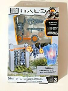 Details about HALO MEGA BLOKS Forerunner Weapons Pack 97166 20PCS /  Construx {Z26}+