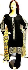 Shalwar-kameez-eid-black-pakistani-designer-salwar-sari-abaya-hijab-suit-uk-20
