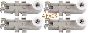 (4 Pack ) 8268743 Dishwasher Upper Rack Wheel Wp8268743, Ap6012252, Ps11745459 Conduire Un Commerce Rugissant