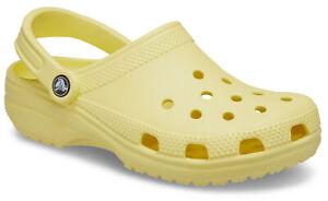 crocs Clog mit Fersenriemen Classic Banana Croslite Normal Unisex