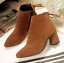 Women-039-s-Autumn-Winter-Short-Boot-High-Heel-Shoes-Warm-Martin-Boots-Plus-Size miniature 12