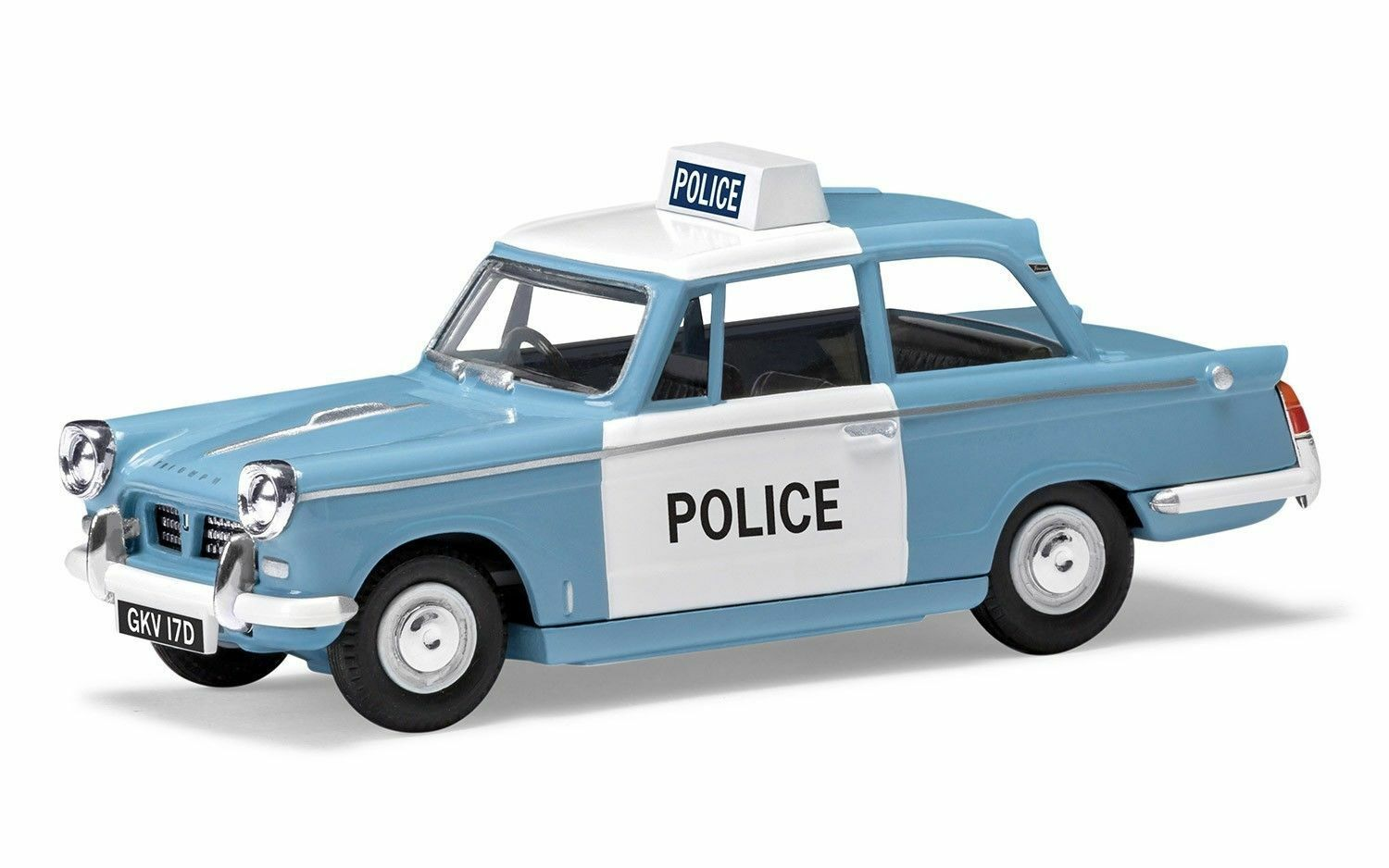 VANGUARDS VA00518, TRIUMPH HERALD, MONMOUTHSHIRE CONSTABULARY, 1 43 SCALE