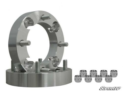 """SuperATV 1/"""" Aluminum Wheel Spacers for Polaris RZR XP Turbo S 1 Pair 2018+"""