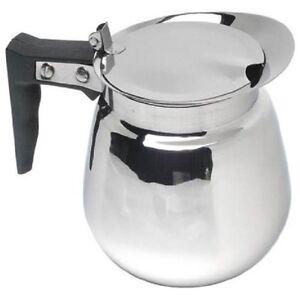 Decantador de café de acero inoxidable de 64 Oz Jarra Jarra Pote  </span>