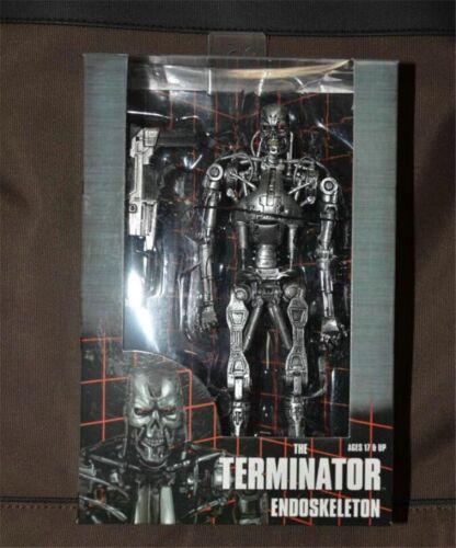 "7/"" The Terminator T-800 Endoskeleton  NECA B17P 1974A Action Figure Toys Hot"