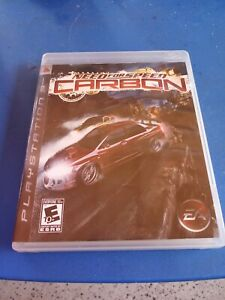 Need For Speed Carbon Sony Playstation 3 2006 Ps3 Racing Complete