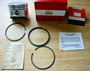 Briggs-amp-Stratton-Piston-Assy-039-493262-Std-Piston-Rings-Keepers-For-Quantum