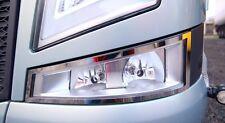 Volvo FH4 fog light stainless steel surround