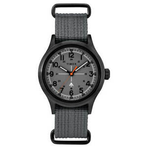 Timex Men's Watch Todd Snyder Military Grey Dial Nylon Strap TW2R78700JR
