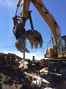New-Strickland-Heavy-Duty-Demolition-Excavator-Grapple-model-115HDR