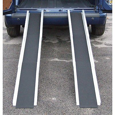 Ex Demo Folding Telescopic Lightweight Wheelchair Travel Mobility Scooter Ramps