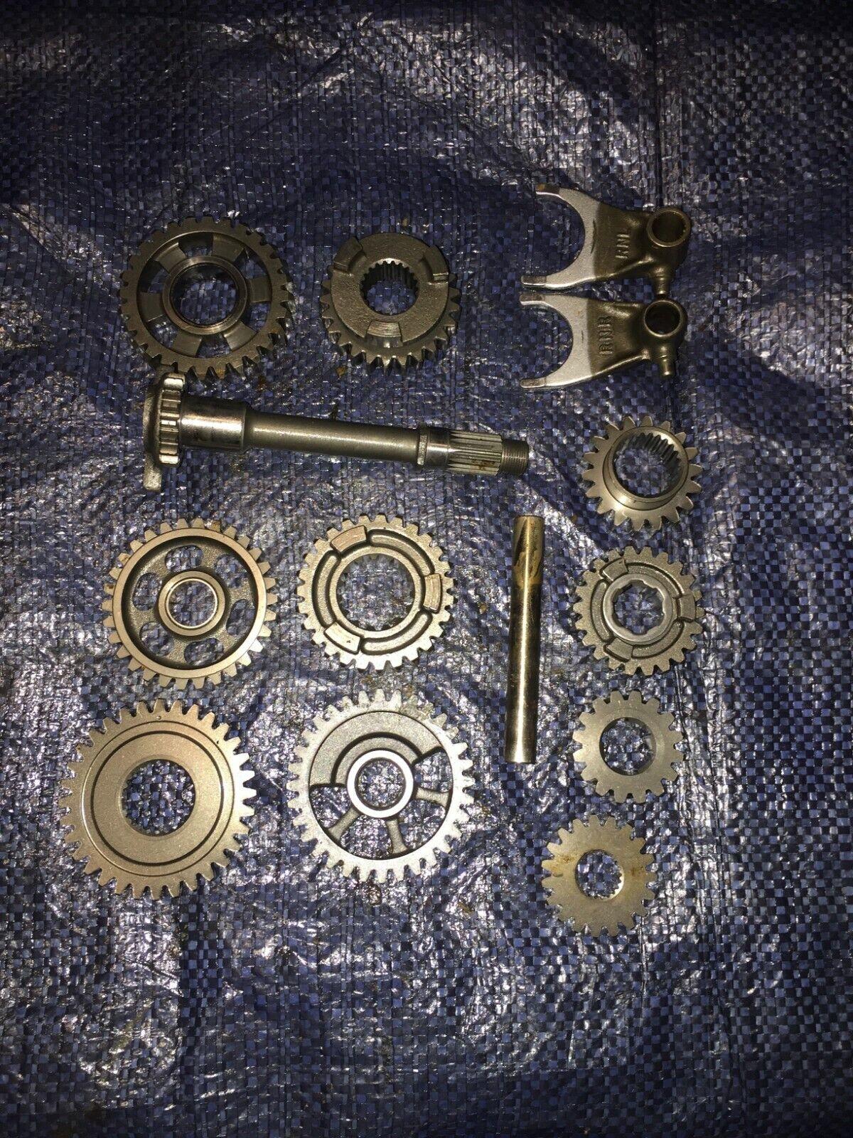 2006 06 Honda Crf250r Crf 250r Crf 250 Transmission Tranny Gears Shift Forks