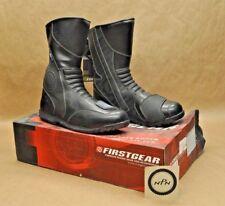 Black, Size 9 Firstgear Kili Lo Mens Motorcycle Boots