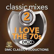 DMC Classic Mixes I Love The 70s Megamix Vol 2 Mixed Music DJ CD Seventies Music
