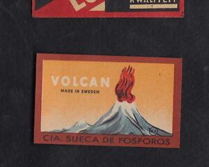 Ancienne allumettes Suède BN10936 Volcan jRBcLsGa-09123021-233732945