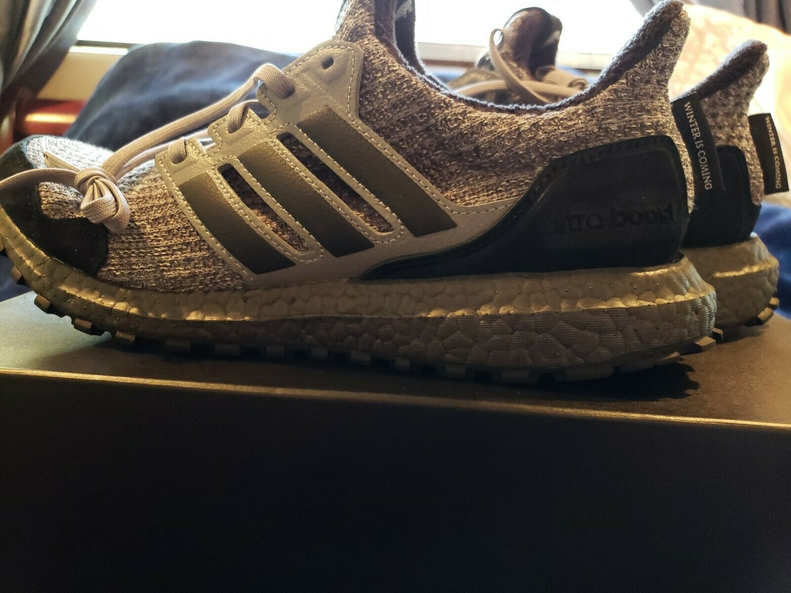 Adidas Ultra Boost Game of Thrones House Stark Sizes 8-13 EE3706 New In Hand