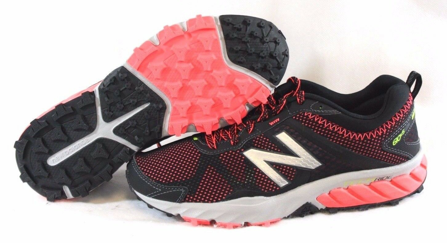 NEW Womens NEW BALANCE WT 610 LB5 Black Pink Trail Running Sneakers Shoes Size 7