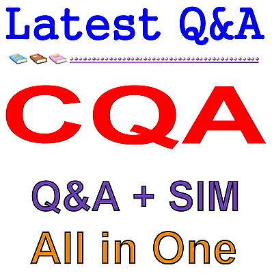 ASQ Certified Quality Auditor Test CQA Exam QA PDF+Simulator