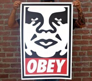 Shepard Fairey signed Original (Banksy, Invader, Dolk, Kaws, MBW,Martin Whatson)