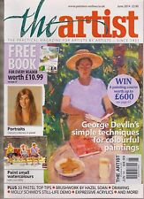 THE ARTIST JUNE 2014, THE PRACTICAL MAGAZINE FOR ARTISTS BY ARTIST.