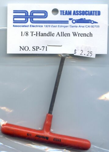# SP-71  Vintage Associated RC300 RC250 RC200 RC100  1//8 T-Handle Allen Wrench