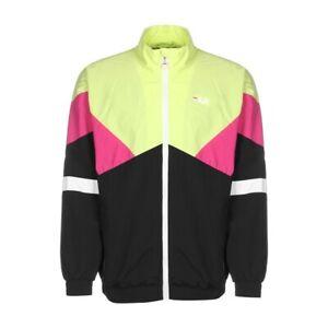 Fila-Ban-Woven-Jacket-Uomo-687478-A456-Black-Green-Pink-White