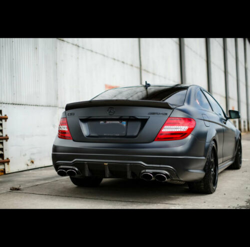 1 NEW ////// AMG trunk rear deck Badge Emblem fits Mercedes Benz GLOSS BLACK G1