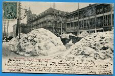 CPA Canada: MONTREAL - Mc Gill Street in Winter / 1904