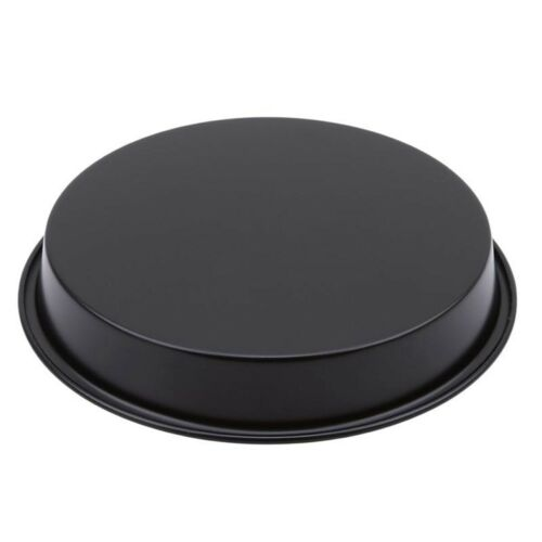 6//8 Inch Round Pizza Pan Tray Carbon Steel Non-Stick Oven Pizza Plate Pan Baking