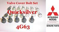 1996 99 Mitsubishi Eclipse Gst & Gsx 4g63 Turbo Valve & Plug Cover Bolts