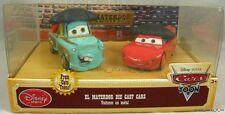 NEW Disney Store Pixar CARS El Materdor Mater Lightning McQueen Diecast Set Rare