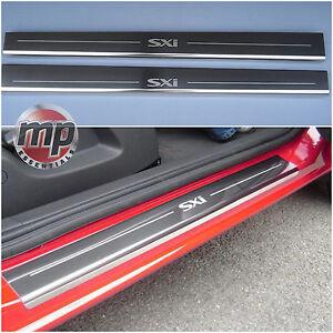 Image is loading New-Vauxhall-Corsa-D-SXi-Silver-Steel-Kick- & New Vauxhall Corsa D SXi Silver Steel Kick Plate Car Door Sill ...