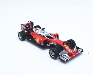 BBURAGO-1-43-2016-FERRARI-FORMULA-1-F1-SF16-H-7-Kimi-Raikkonen-Model-CAR-IN-BOX