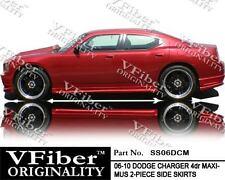 2006-2010 Dodge Charger 4dr VFiber Body Kit Maximus Side Skirt