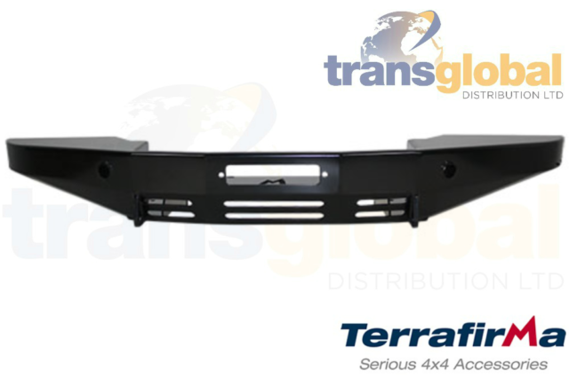 Pro Taper Small Frame Winch Front Bumper for Land Rover Defender with AC TF006A