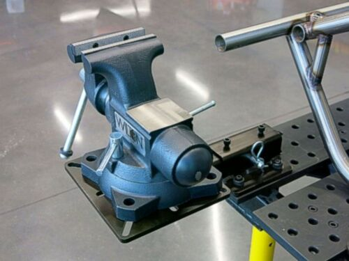 Vise and Grinder Mount with Receiver