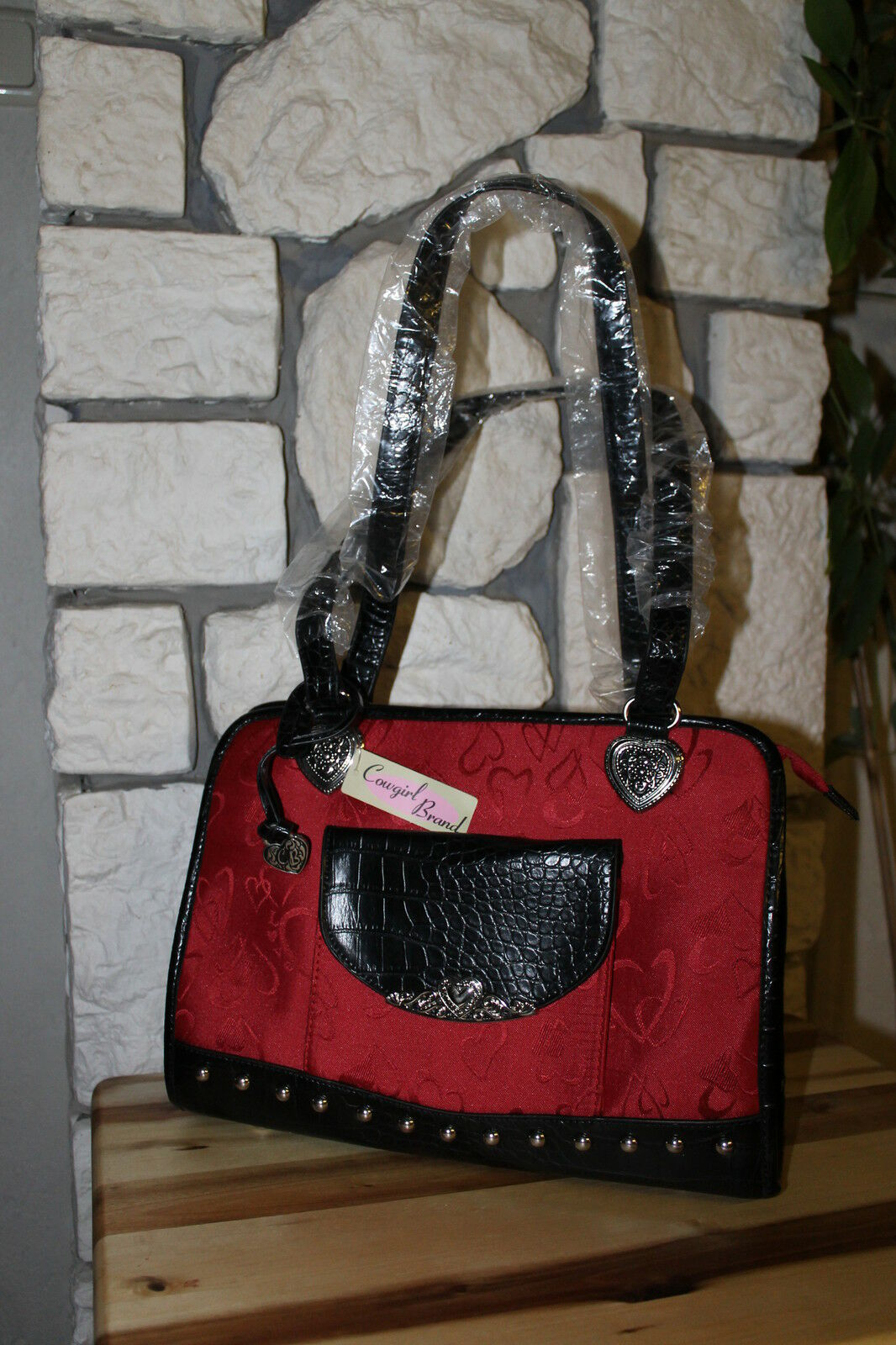 Handtasche mit  edler edler edler Deko 13be20