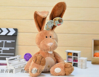 Plush toy stuffed doll NICI cute long ear rabbit bunny hare birthday gift 1pc