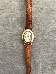 Cherokee-Mother-of-Pearl-Dial-Gold-Tone-Case-Ladies-Quartz-Watch
