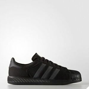 0b6e6dbe3 Image is loading Adidas-Originals-Superstar-Bounce-Shoes -Athletic-Running-Black-