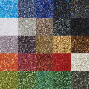 1200PCS-3-034-Glass-Bugle-Beads-Mix-Colorful-Silver-Lined-AB-Color-Multi-Style