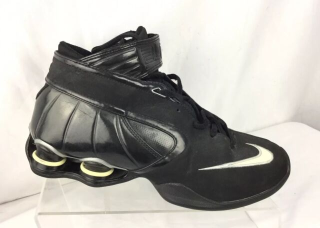 NIKE Shox Elite Basketball Shoes Women's Sz 8 Black/ White
