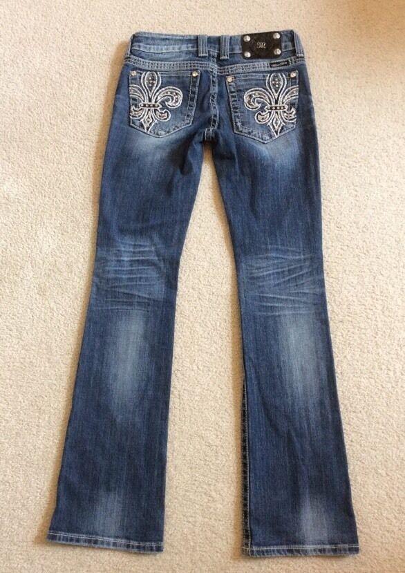 Miss Me Boot Cut Stretch Jeans JP5109 Size 26