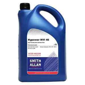 Details about Hydraulic Oil ISO 46 HVI High Viscosity Index Fluid 5 Litre