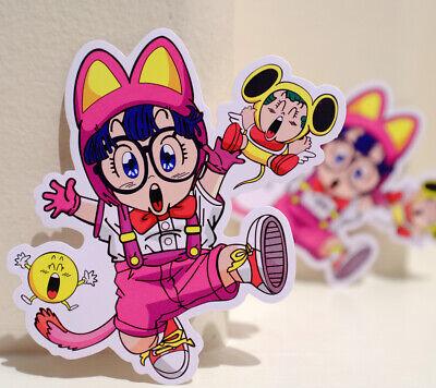"Slump Manga Cartoon Japan 3/"" Decal sticker #4003 Arale Norimaki Dr"