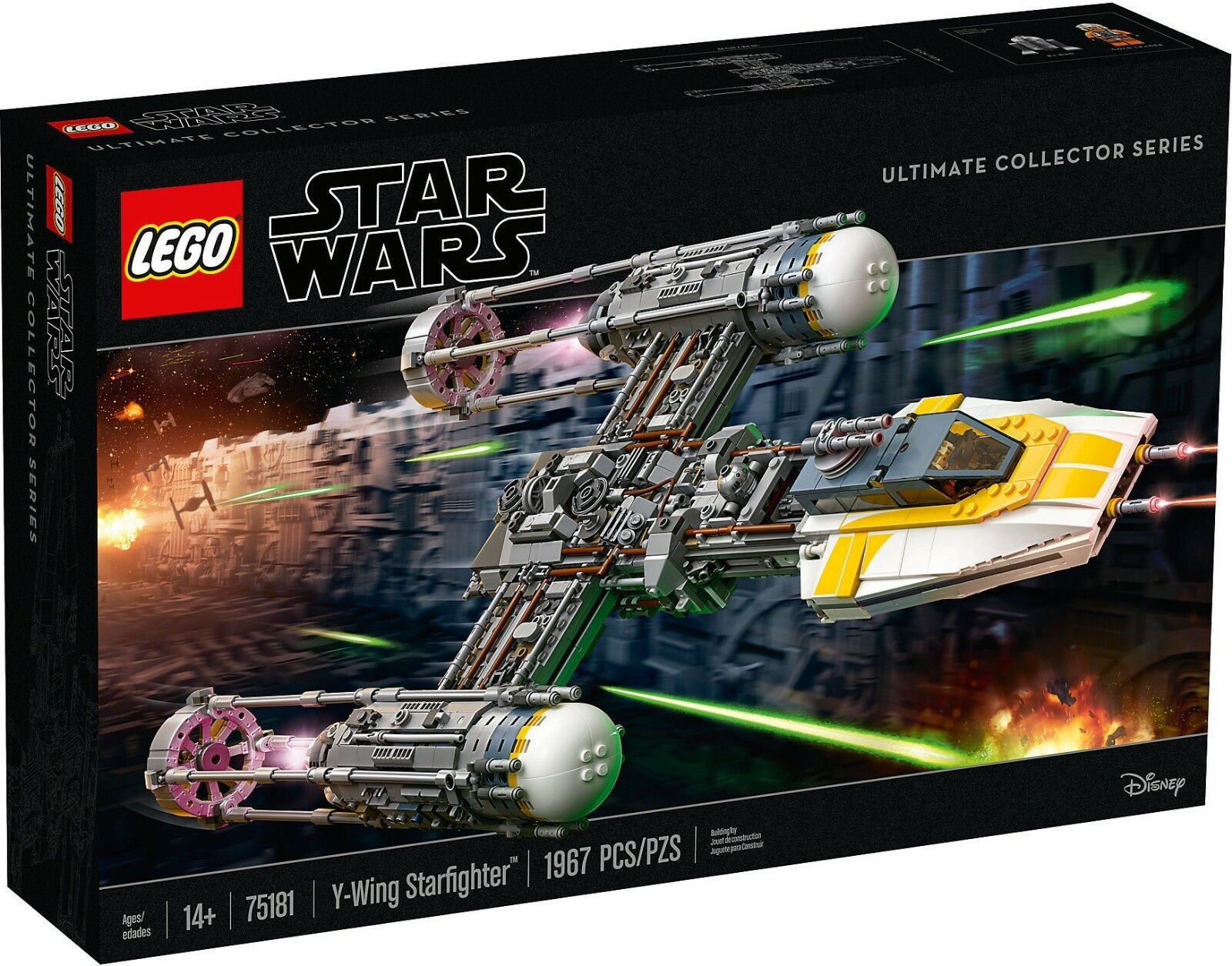LEGO Star Wars UCS 75181 - Y Wing Caza estelar NUEVO