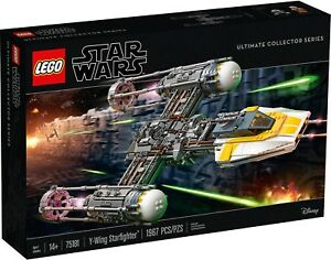LEGO-Star-Wars-UCS-75181-Y-Wing-Starfighter-NUOVO