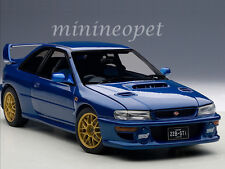 AUTOart 78602 SUBARU IMPREZA 22B STi UPGRADED VERSION 1/18 MODEL CAR BLUE