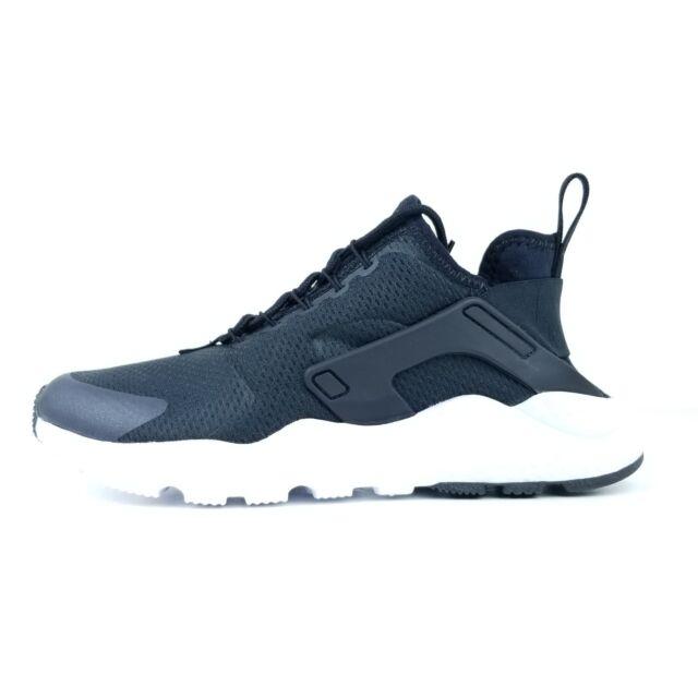 Nike Air Huarache Run Ultra Womens Running Shoes 819151 008 Black White  Size **